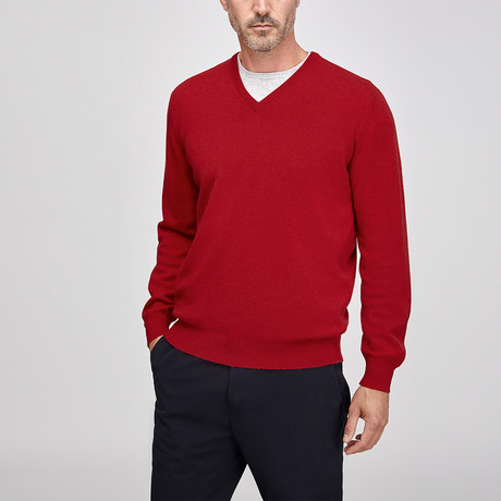 Cashmere Vee // Red (S)