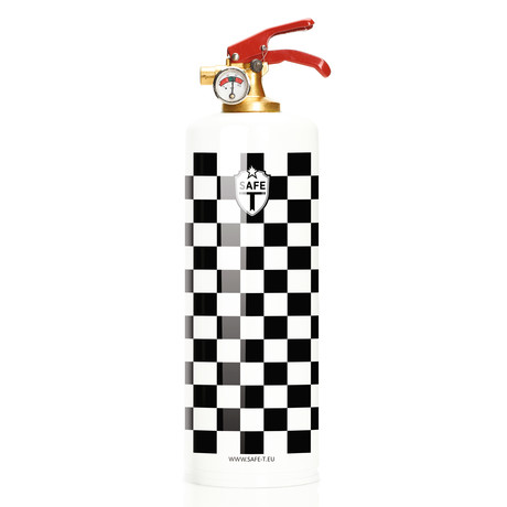 Safe-T Fire Extinguisher // Checkerboard