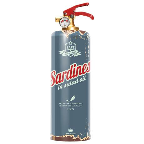 Safe-T Designer Fire Extinguisher // Sardines