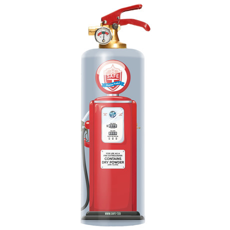 Safe-T Design Fire Extinguisher // Pump