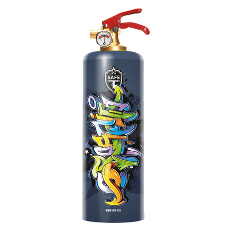 Safe-T Designer Fire Extinguisher // Graffiti