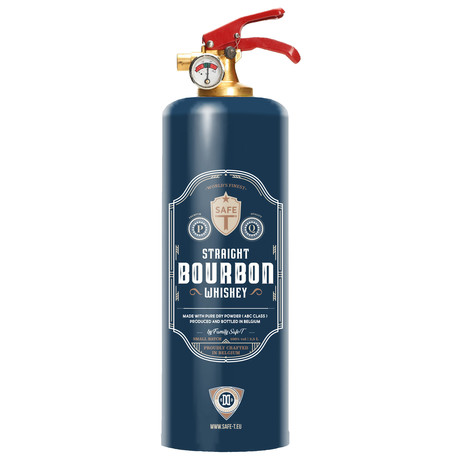 Safe-T Designer Fire Extinguisher // Bourbon