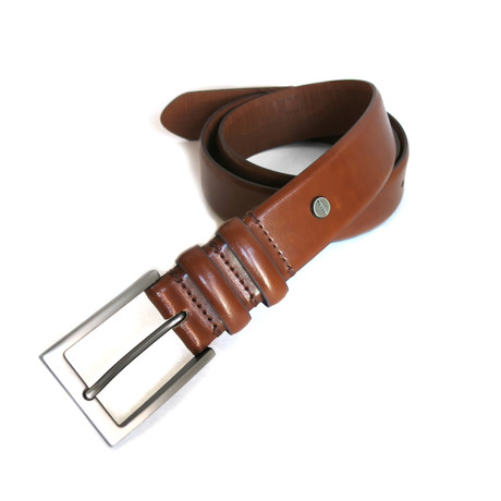 Douglas Dress Belt // Cognac (32)