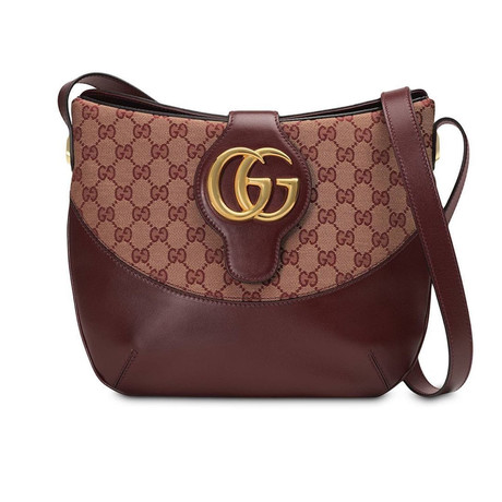 Gucci // Arli GG Medium Shoulder Bag // Burgundy