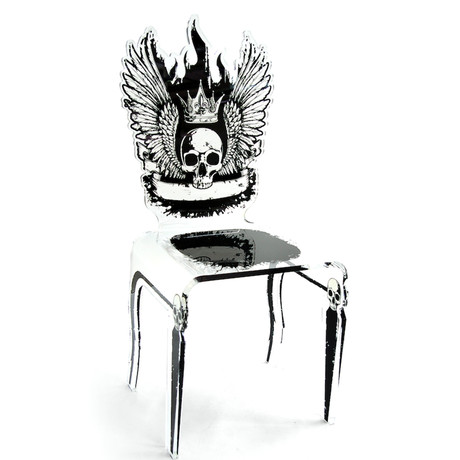 Let's Rock Chair // Skull