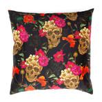 Skulls + Flowers Pillow