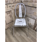 Factory Chair // Steel Grey