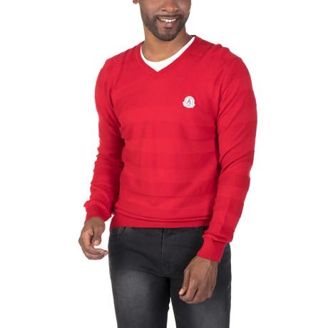 Jesper Sweater // Red (XS)