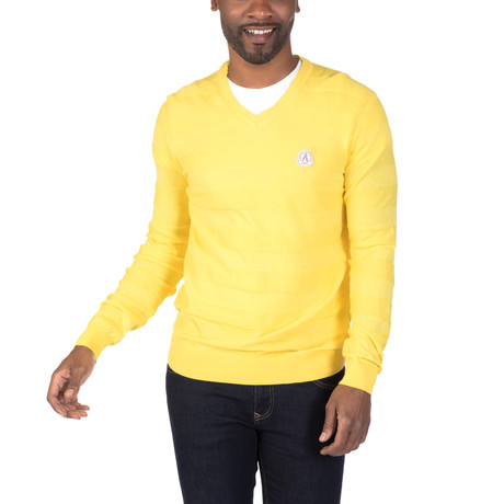 Nicholas Sweater // Yellow (XS)