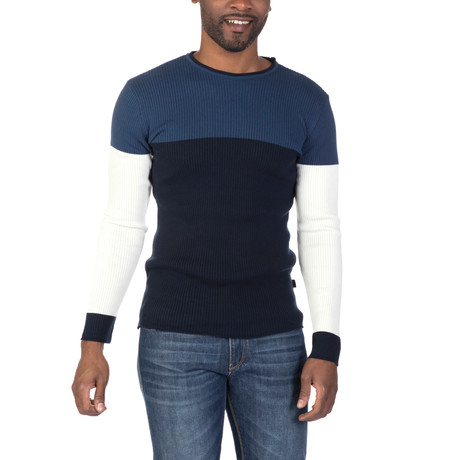 Joel Sweater // Indigo + Navy (XS)