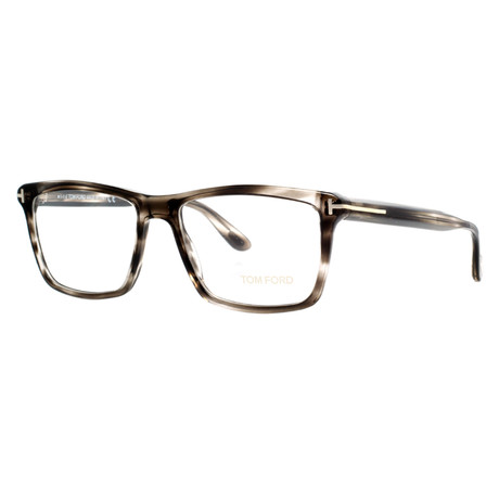 Unisex Rectangular Eyeglasses // Charcoal