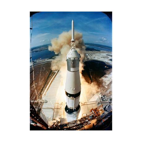 """Apollo 11 Launch (11""""W x 16""""H)"""