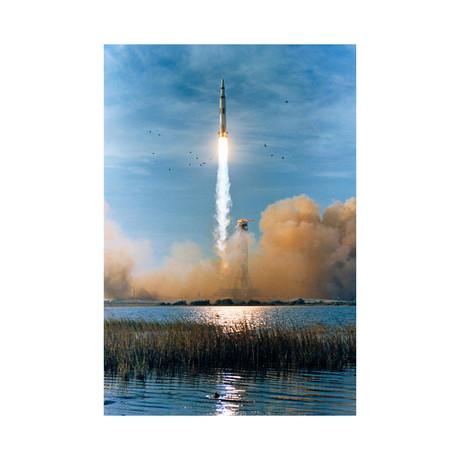 """Apollo 8 Launch (11""""W x 16""""H)"""