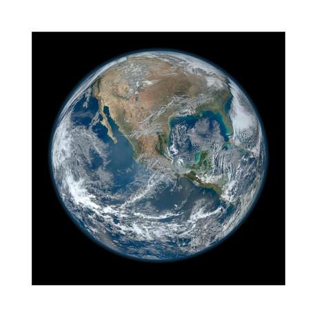 "Earth (18""W x 18""H)"