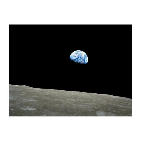 """Earthrise, // Apollo 8 // December 24, 1968 (16""""W x 12""""H)"""
