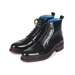 Polished Leather Boots // Black (Euro: 39)