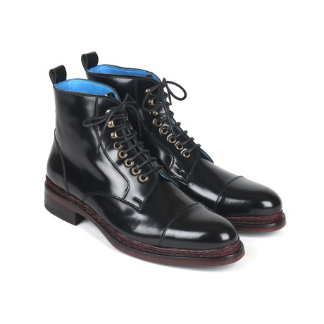Polished Leather Boots // Black (Euro: 37)