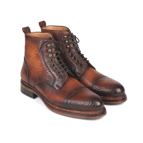 Antique Burnished Boots // Brown (Euro: 37)