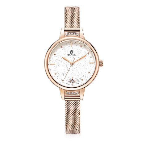 Manjaz Ladies Quartz // 6199L SR-WTR-A6