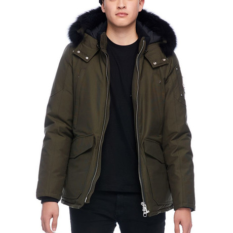 Men's Pearson Jacket // Army + Black (S)