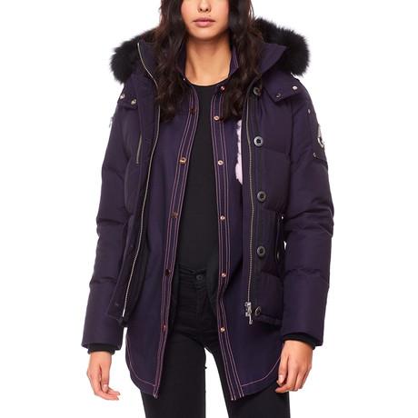 Women's 3Q Jacket LDS // Abyss + Black (S)