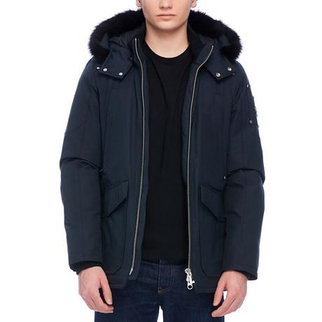 Men's Pearson Jacket // Navy + Black (S)