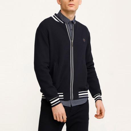 Larson Zip Up Jacket // Navy (S)