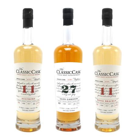 Classic Cask Single Malt Scotch Whisky Collection // Set of 3