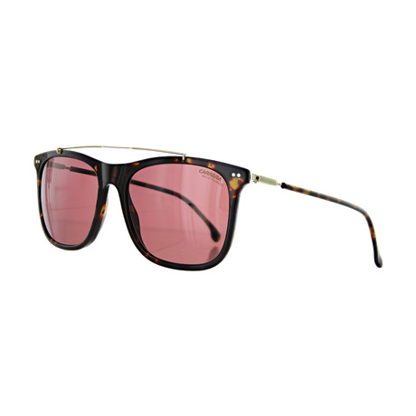 Men's Polarized Square Sunglasses // Dark Havana
