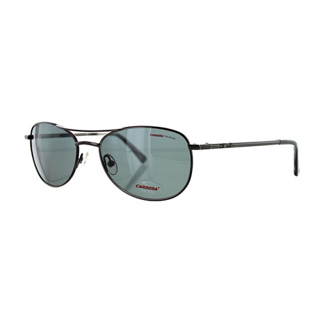 Men's Oval Sunglasses // Gunmetal