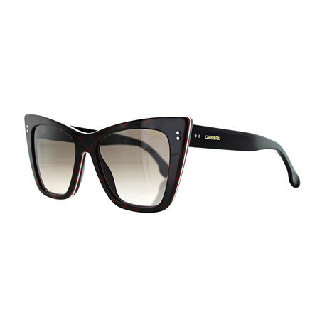 Women's Cat Eye Sunglasses // Dark Havana