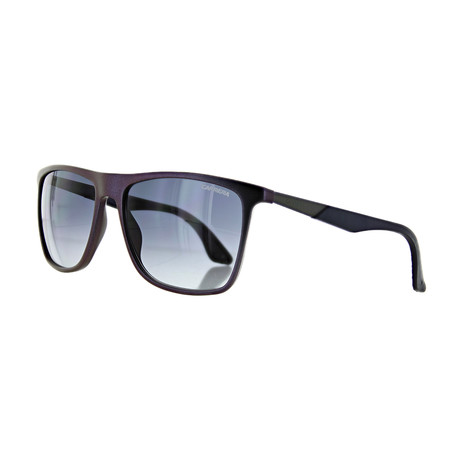 Men's Round Gradient Sunglasses // Irides Rust