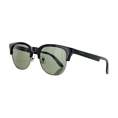 Men's Square Sunglasses // Black