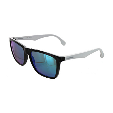 Unisex Square Mirror Sunglasses // Black, White