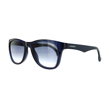 Unisex Square Gradient Sunglasses // Blue