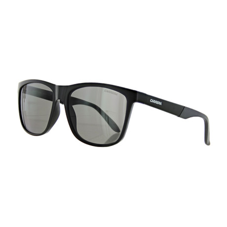 Men's Polarized Square Sunglasses // Matte Black
