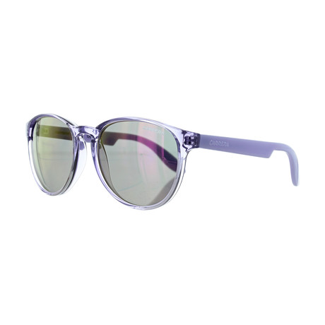 Carrera // Unisex Round Photocro Sunglasses // Lilac