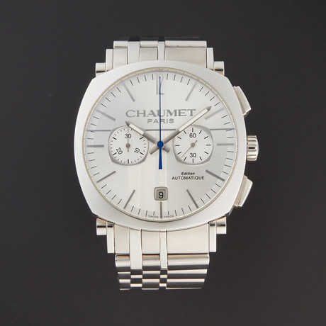 Chaumet Dandy Chronograph Automatic // W11690-SILVER // Store Display