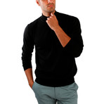 Hector Wool Sweater // Black (L)