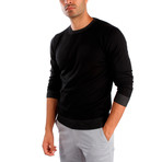 Giotto Wool Sweater // Black (XL)