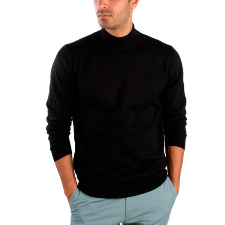 Hector Wool Sweater // Black (S)