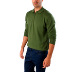 Matteo Wool Sweater // Green (XL)