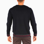 Lotte Wool Sweater // Navy Blue (S)