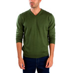 Pietro Wool Sweater // Green (L)