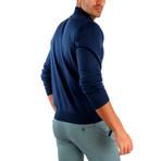 Hector Wool Sweater // Indigo (XL)