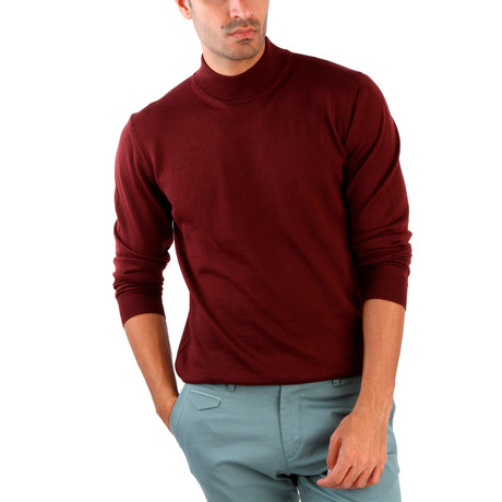 Hector Wool Sweater // Bordeaux (S)