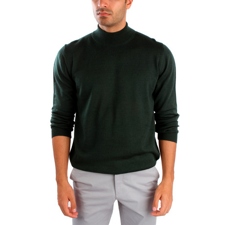 Hector Wool Sweater // Dark Green (S)