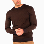 Giotto Wool Sweater // Brown (S)