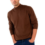 Hector Wool Sweater // Brown (L)