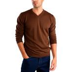 Pietro Wool Sweater // Brown (XL)